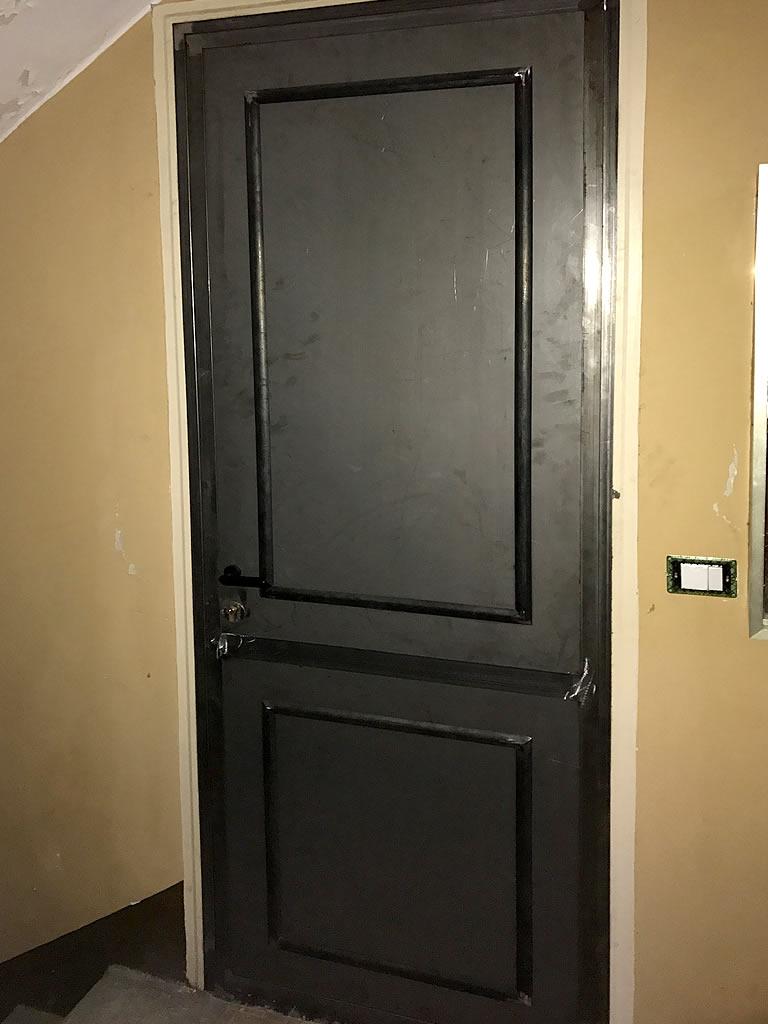Porta in ferro per case