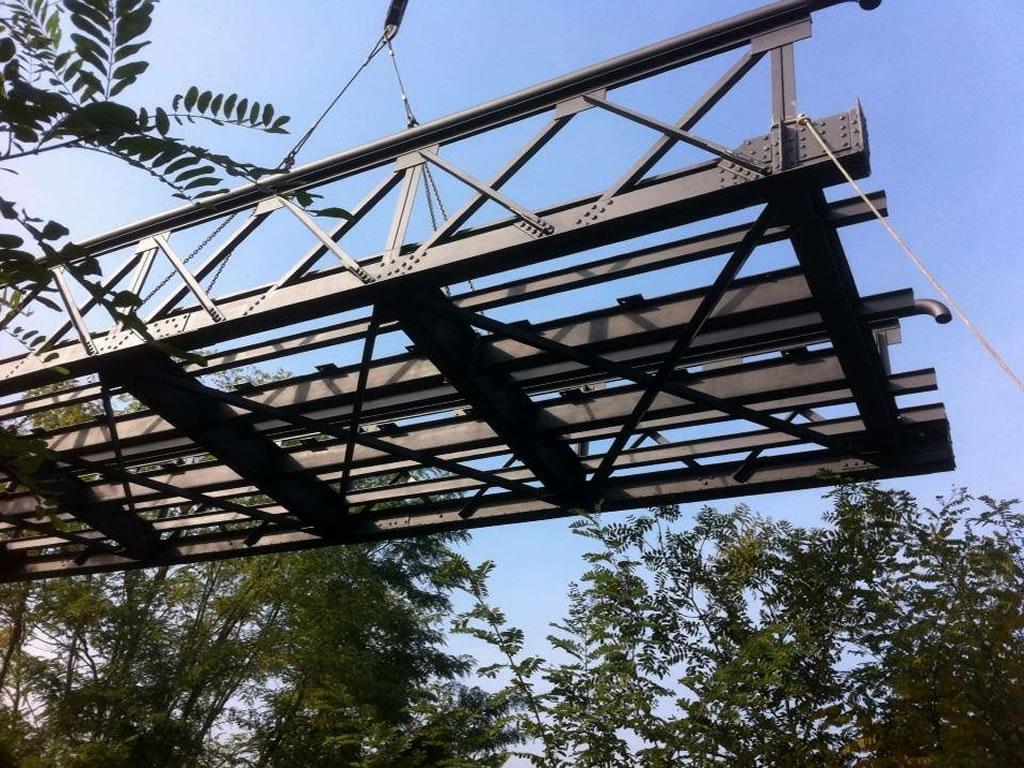 Ponti in ferro Fabbro Andrea Ramella Bon