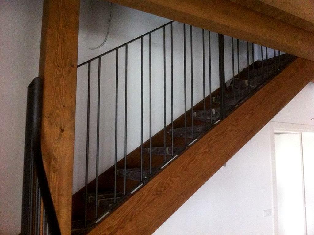 Scale in legno per case